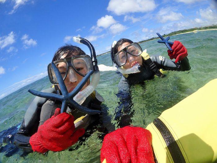 海人体験シュノーケリング