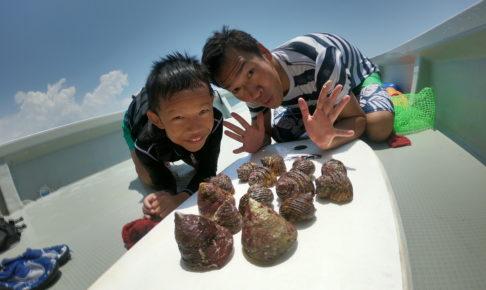 読谷海人倶楽部の貝とりコース